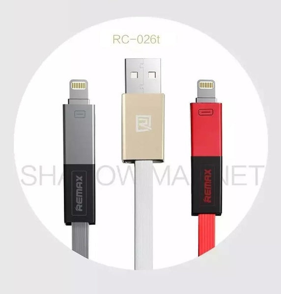 REMAX Official Store -  Data Cable 2 in 1 Shadow