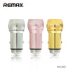Car Charger Dual Port RCC205 - REMAX www.iremax.com