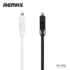 Data Cable 2 in 1 Elegant - REMAX www.iremax.com