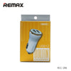 Car Charger Dual Port Dolphin 2.4A RCC206 - REMAX www.iremax.com