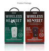 WK Wireless Headset BS-535 Collar Clip HiFI Sound Bluetooth Earphone
