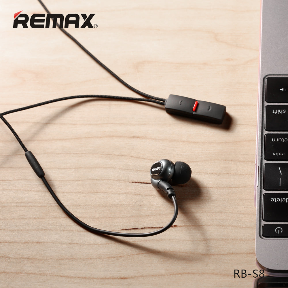 a44ea0b63f0401 REMAX Official Store -Bluetooth Headphones Sporty RB-S8