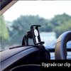 Universal Car Holder Clip - Black