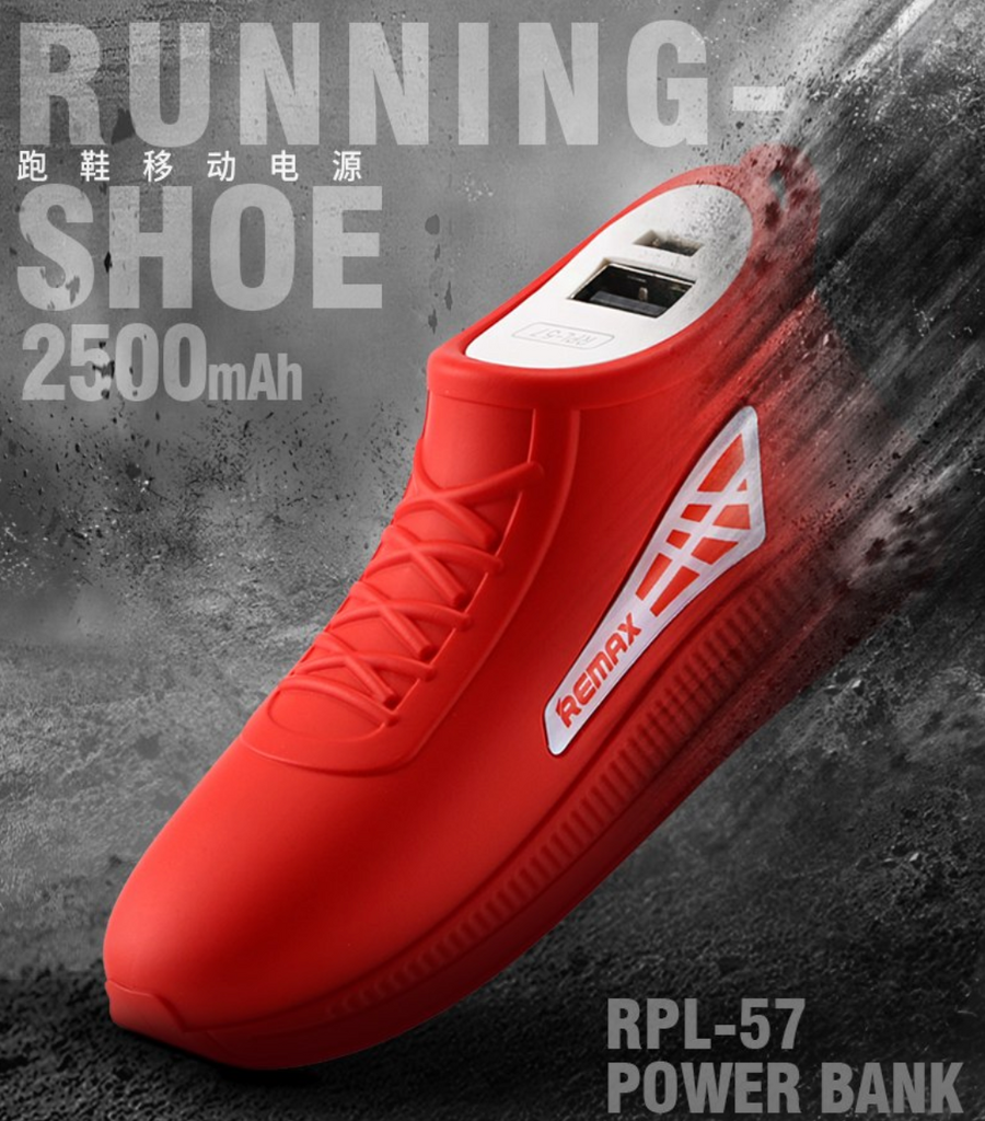 REMAX Shoe Running Power Bank 2 500 mAh RPL-57 - REMAX Official Store
