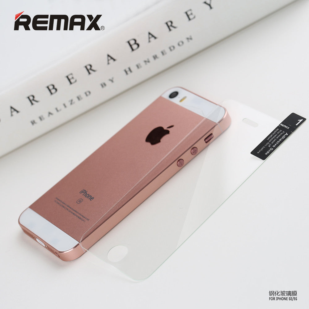 REMAX Official Store -Tempered Glass Ultra Thin 0.1mm iPhone 5SE/5/5S