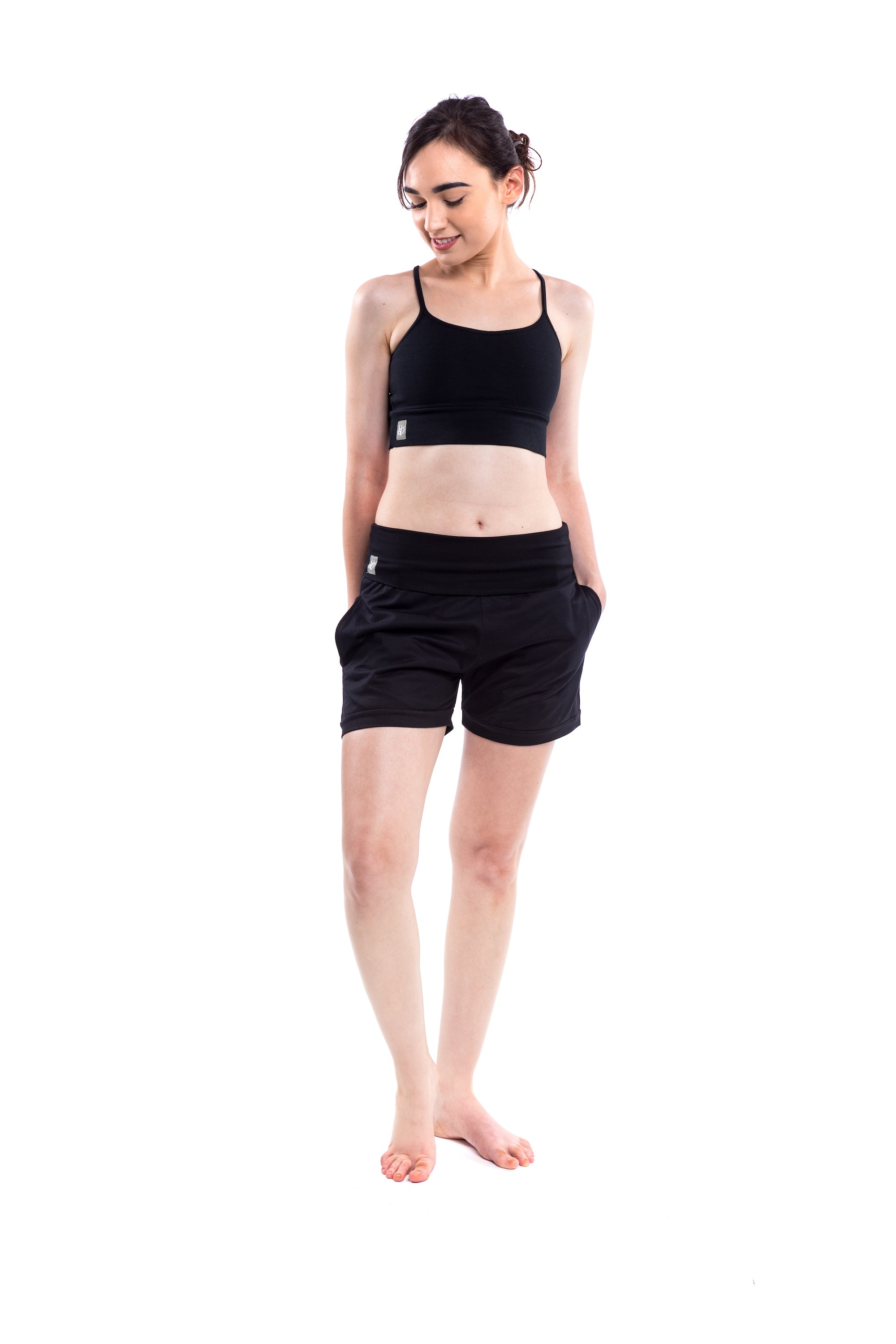 'Mudra' Shorts Black - Shorts