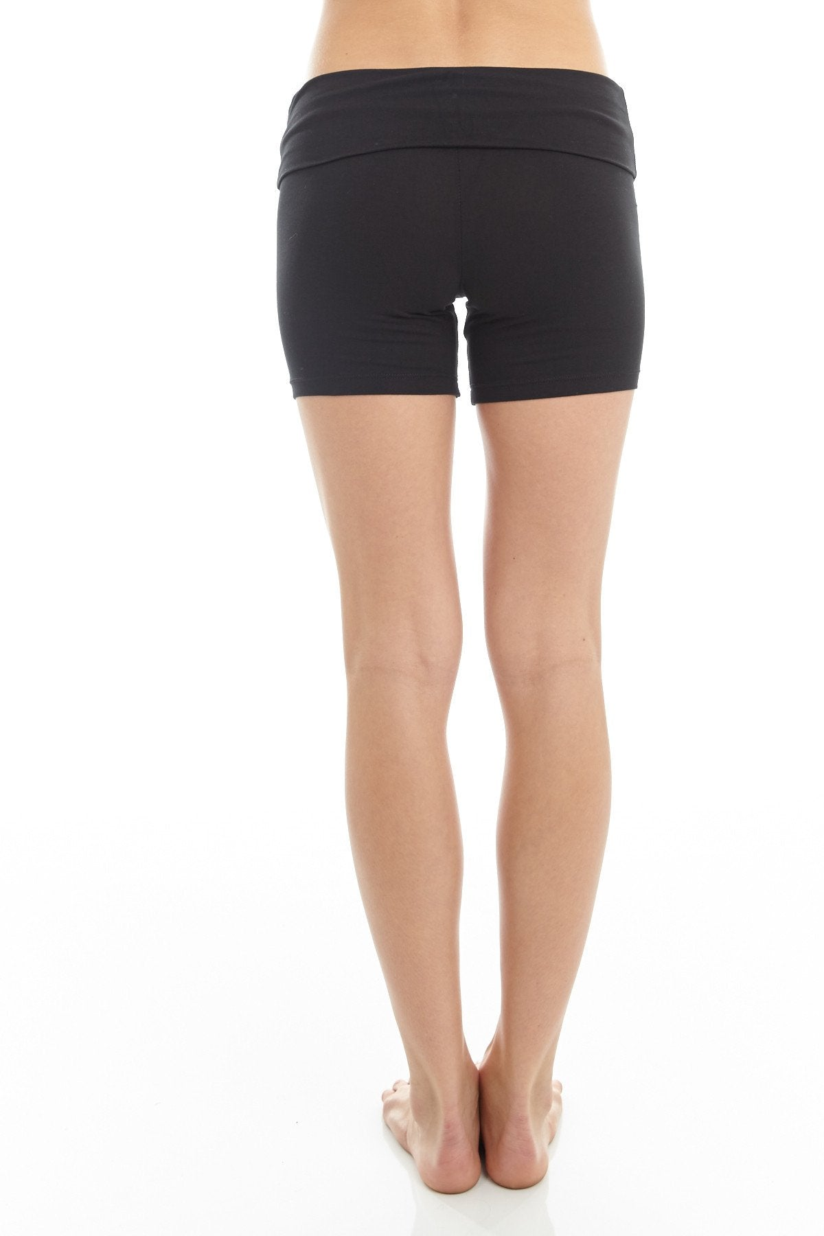 'Trini' Yoga Shorts Black - Shorts
