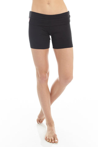 'Mudra' Drop Crotch Yoga Lounge Pants Black