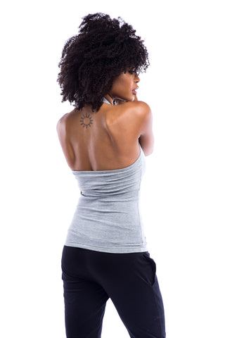 'Dvadasa' Yoga Pants Cream/Grey Tie Dye