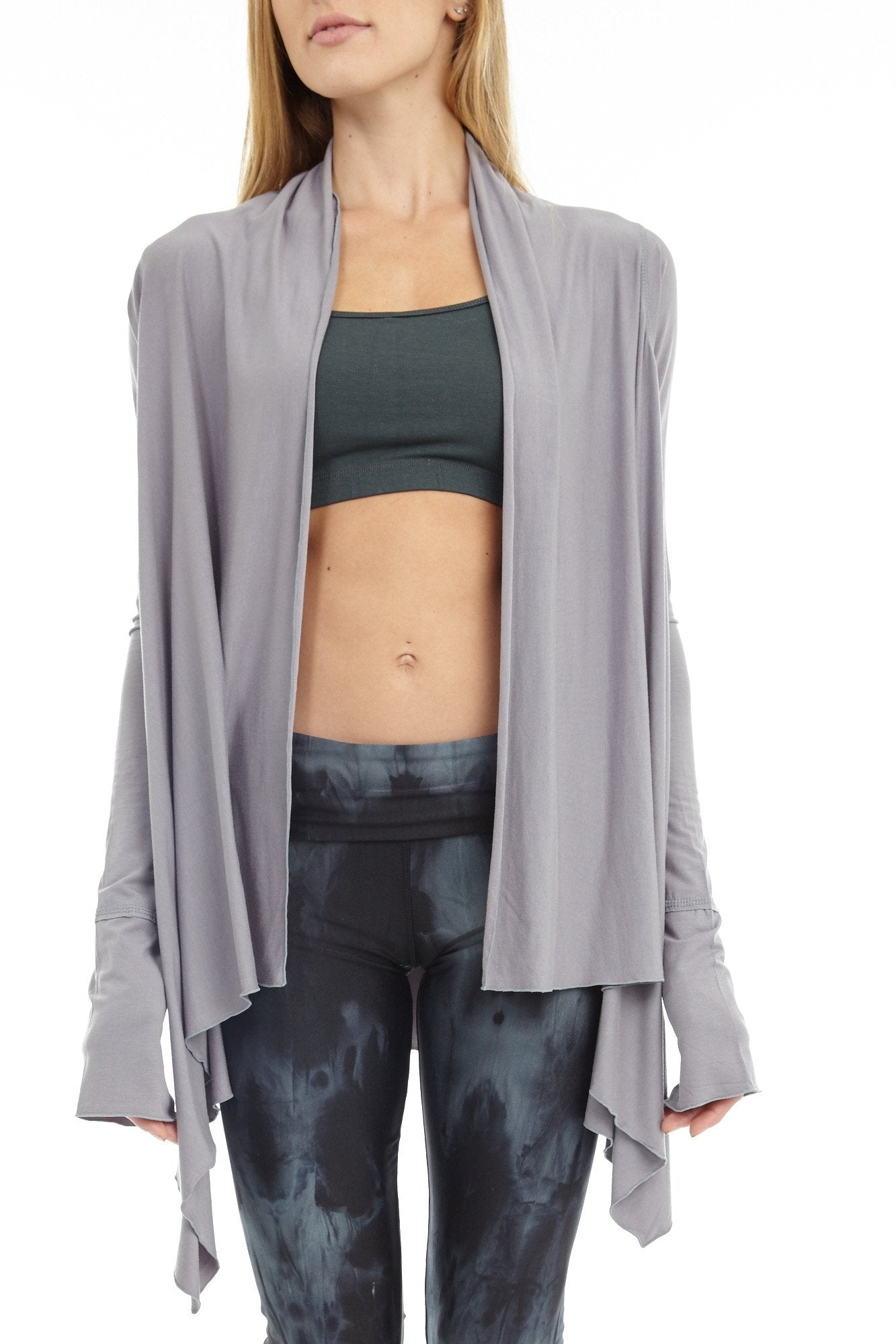 'Sukha' Women's Cardigan Yoga Wrap - Wraps