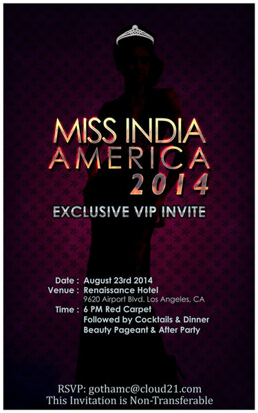 2014 Miss India America Beauty Pageant