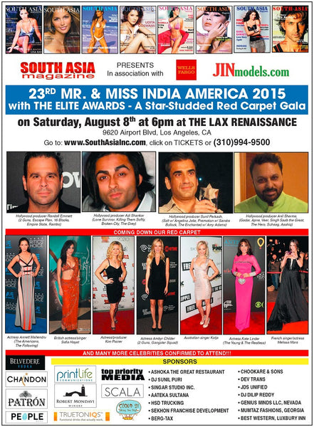 2015 Elite Awards & Miss India America Charity Gala