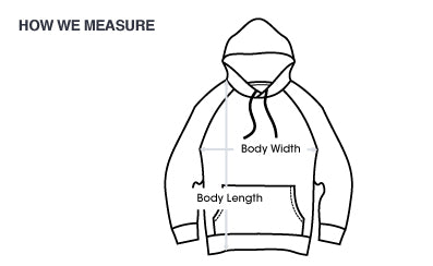 Sizing Chart | Poket Roket Apparel