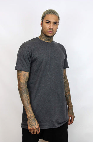 Grey Tee | Poket Roket Apparel