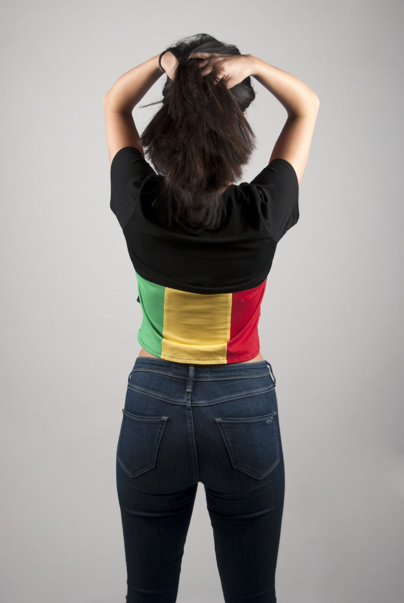 Rasta Crop Top | Poket Roket Apparel