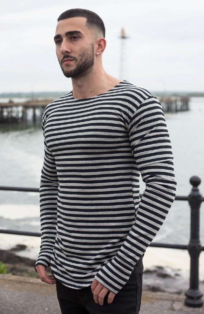 Striped Sleeve | Poket Roket Apparel