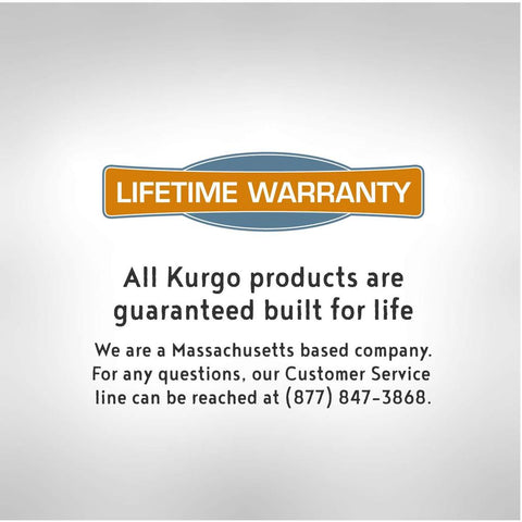 Kurgo Lifetime Warranty at Countrysidepet.com
