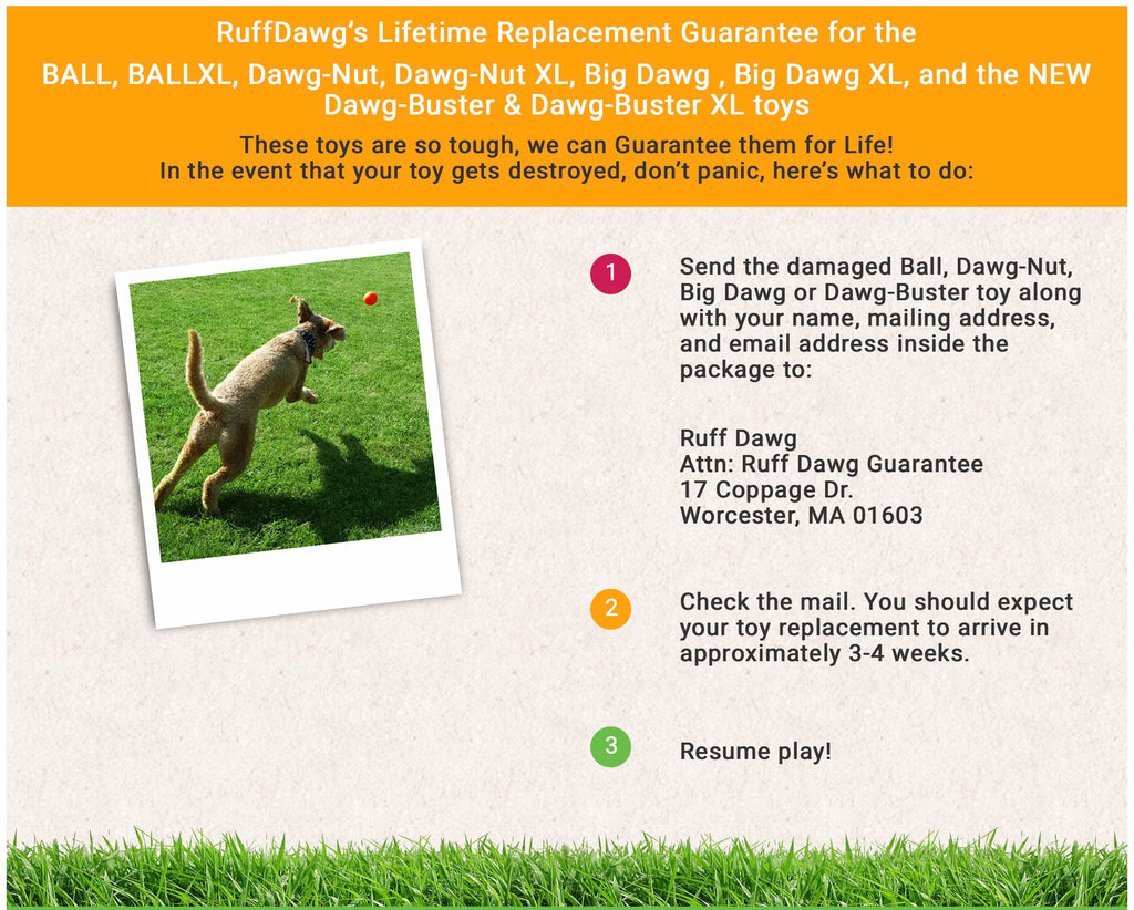 RuffDawg Lifetime Guarantee