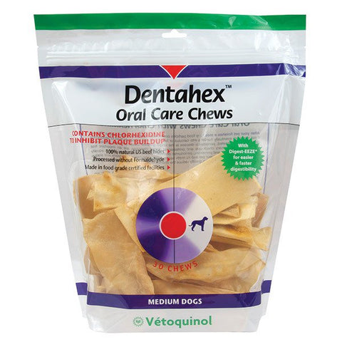 Dentahex Oral Care Chews for Medium Dogs