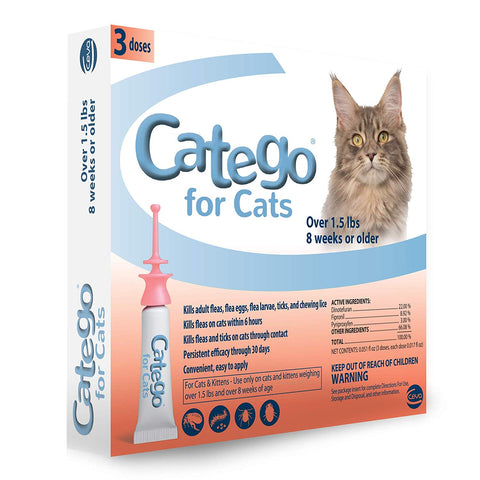 Catego Flea & Tick Topical 3 Dose - Countryside Pet Supply
