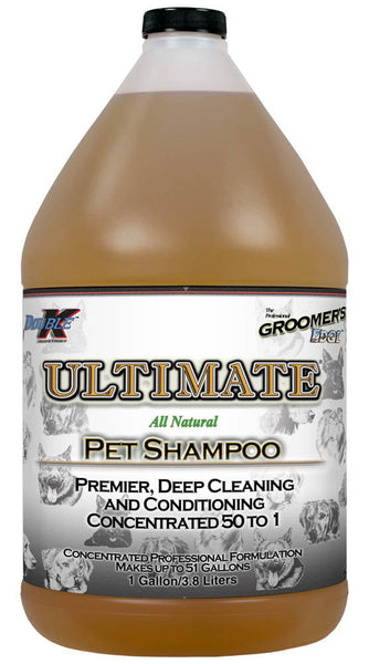 Groomer's Edge Ultimate All-Natural Pet Shampoo Gallon