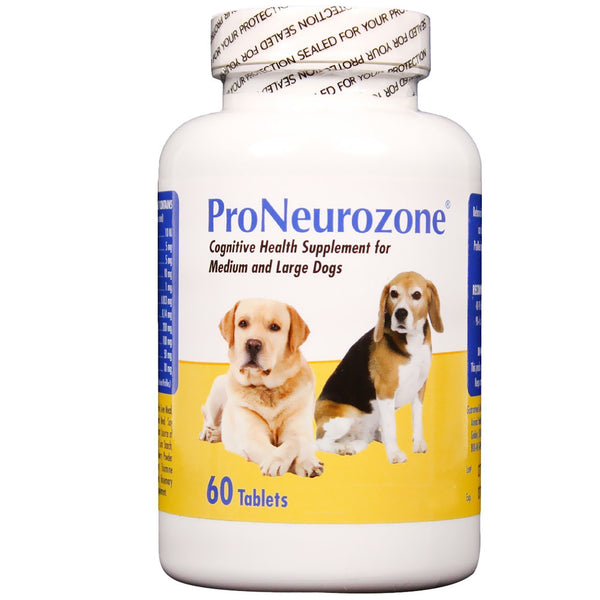 ProNeurozone Cognitive Health Supplement for Medium and Large Dogs - 60 Chewable Tablets