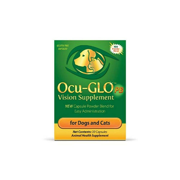 Ocu-Glo PB Canine & Feline Vision Support Supplement - 30 Capsules
