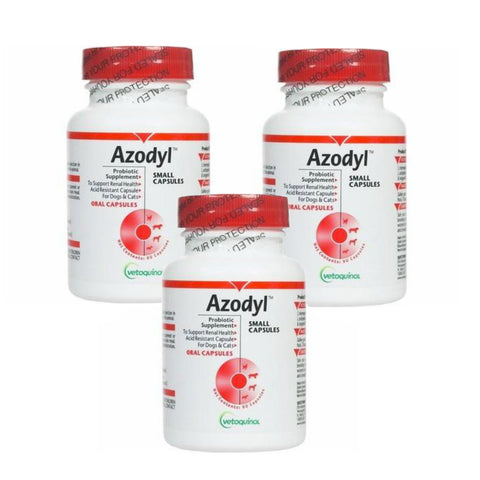Vetoquinol Azodyl Probiotic Supplement - 270 Capsules - Countryside Pet Supply