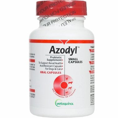Vetoquinol Azodyl Probiotic Supplement - 90 Capsules