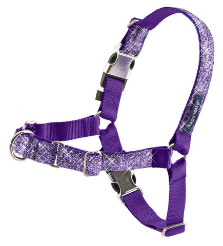 PetSafe Bling Easy Walk Harness - Large Purple Bling