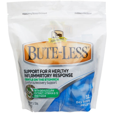 Absorbine Bute-Less Comfort and Recovery Support Pellets for Horses 2lb.
