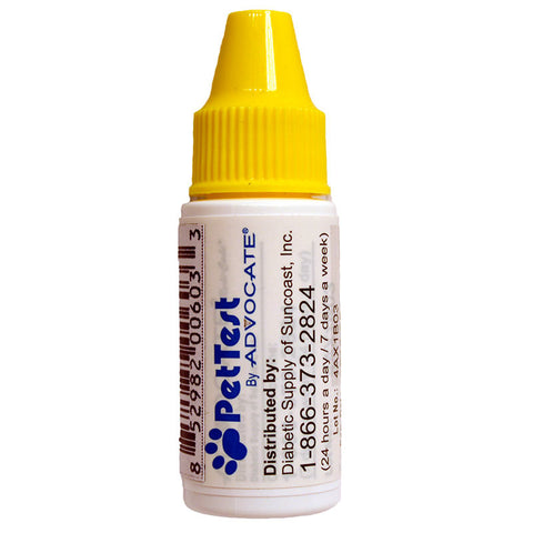 Advocate PetTest Meter Control Solution - 4 mL