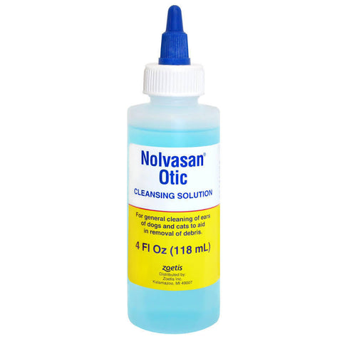 Nolvasan Otic Ear Cleanser for Dogs & Cats