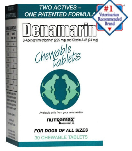 Denamarin Chewable Tablets for All Dogs- 30 Chewable Tablets