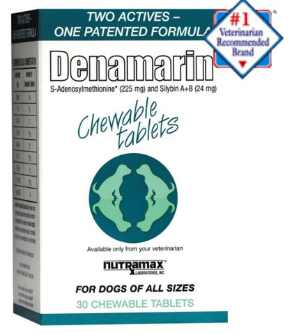 Denamarin Chewable Tablets for all Dogs Dogs- 30 Chewable Tablets - Countryside Pet Supply - 1