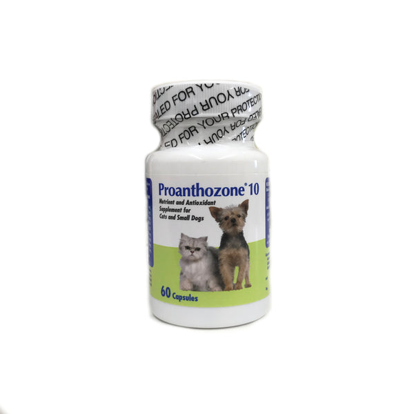 Proanthozone 10mg for Cats & Small Dogs 60 Capsules - Countryside Pet Supply