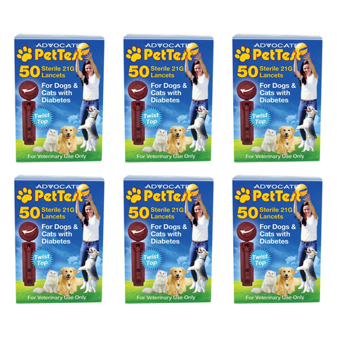 PetTest Sterile Twist Top Lancets 21GA - 300 Count - CountrysidePet.com