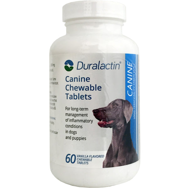 Duralactin for Dogs Chewable Tablets - 60 Chewable Tablets