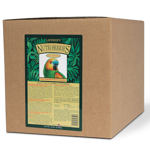 Lafeber Tropical Fruit Nutri-Berries Parrots (20 Lbs) - FREE SHIPPING - Countryside Pet Supply - 1