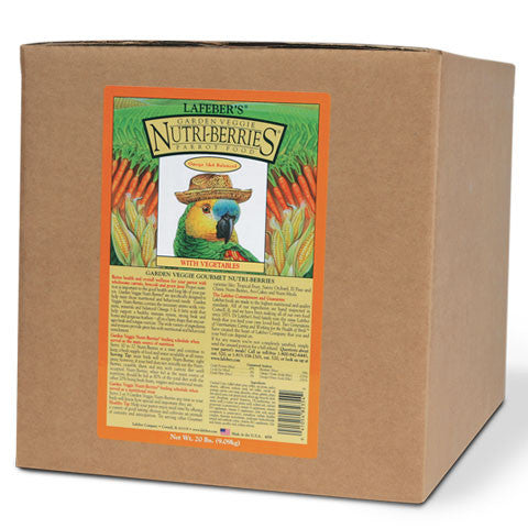 Lafeber Garden Veggie Nutri-Berries - Parrot  (20 Lb Box) - FREE SHIPPING - Countryside Pet Supply - 1