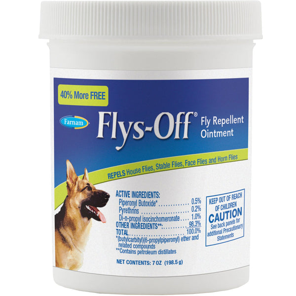 Flys-Off Fly Repellent Ointment 7oz.