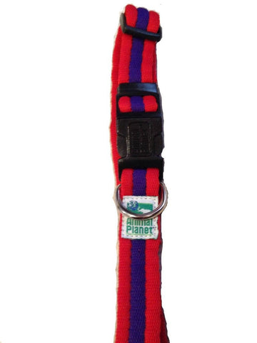Animal Planet Two Tone Red Collar - Countryside Pet Supply