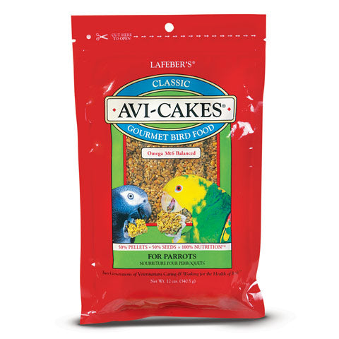 Lafeber's Classic Avi-Cakes for Parrots 12 oz. - CountrysidePet.com