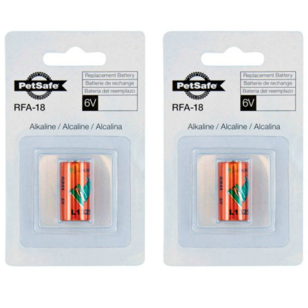 PetSafe 6 Volt Batteries - 2 pack RFA-18-11