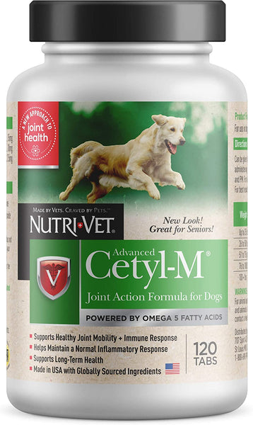 Advanced Cetyl-M Chewable Tablets for Dogs - 120 Tablets - CountrysidePet.com