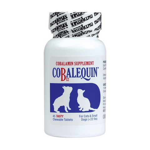 Cobalequin Cobalamin Supplement for Dogs & Cats Under 22 lbs.