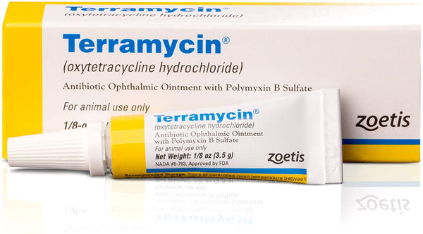 Terramycin Antibiotic Ophthalmic Ointment for Animals - CountrysidePet.com