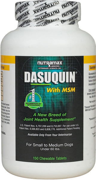 Dasuquin MSM for Small/Medium Dogs (150 Tabs)