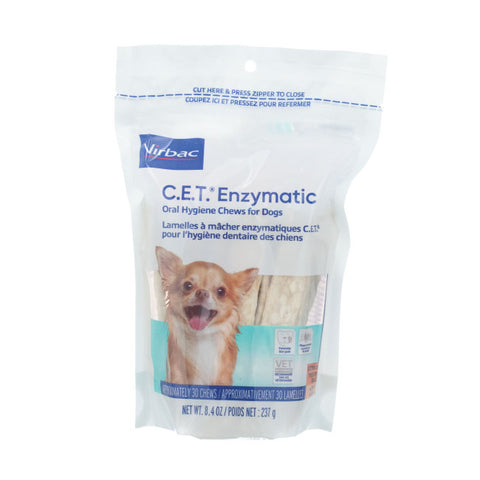 C.E.T. Enzymatic Chews for Extra Small Dogs Under 11 lb. - CountrysidePet.com
