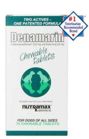 Denamarin Chewable Tablets for all Dogs - 75 Chewable Tablets - Countryside Pet Supply